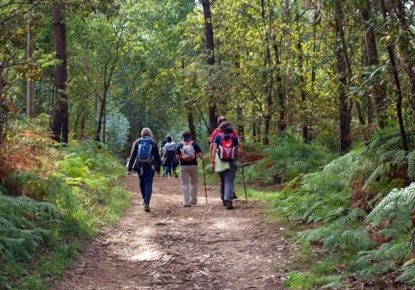 Doing the Camino de Santiago without a backpack