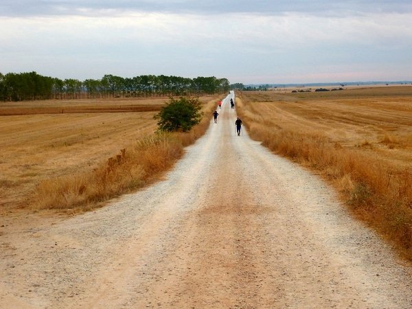 The easiest routes of the Camino