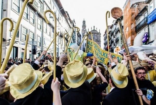 A lo largo del Camino de Santiago Portugués encontrarás diversas celebraciones durante el mes de mayo.