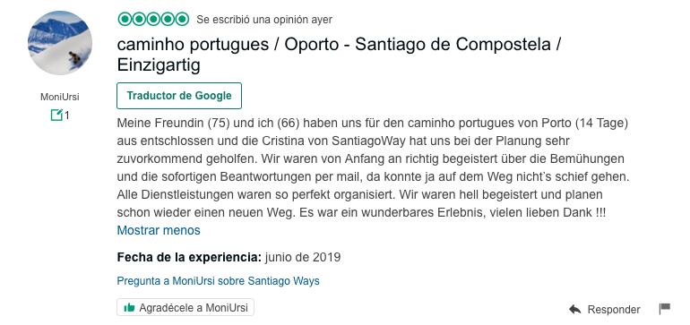 Bei Santiago Ways kümmern sich auf den Jakobsweg spezialisierte Reiseverkehrskaufleute um dich.