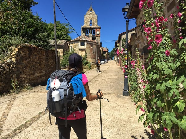 Doing trips to the Camino de Santiago to disconnect