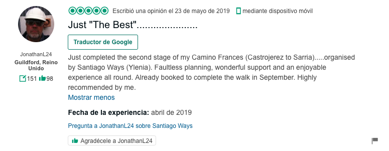 Review Tripadviso: Just the best