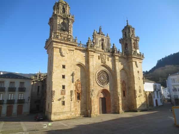 Die Kathedrale von Mondoñedo
