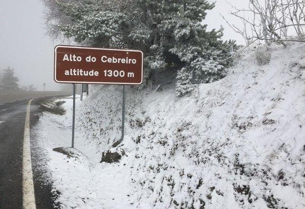 Der französische Weg im Winter
