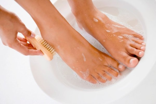 Fuße waschen