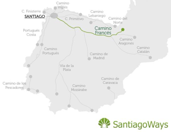 Maps Camino de Santiago