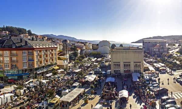 Plaza de Mercado en Cee