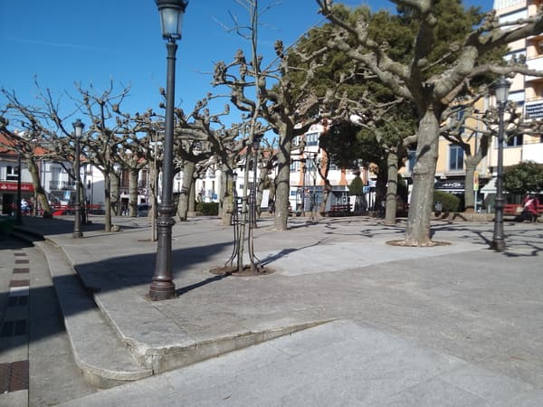 Plaza en Arzua