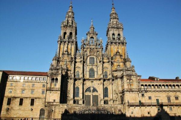 Santiago de Compostela is the beginning of Camino de Finisterre