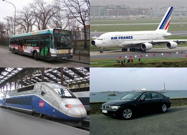 Transport auf dem Jakobsweg