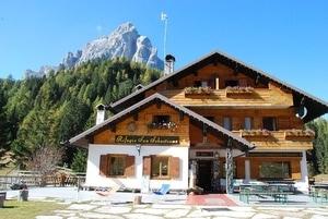 Alojamiento en Refugio Passo Duran San Sebastiano