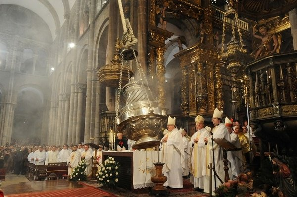 Botafumeiro In der Kathedrale von Santiago