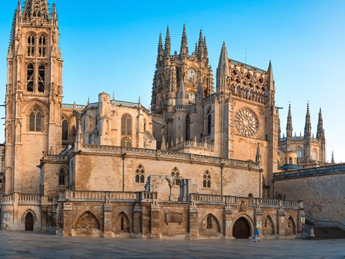 The Camino de Santiago from Burgos