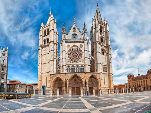 The Camino de Santiago from Leon