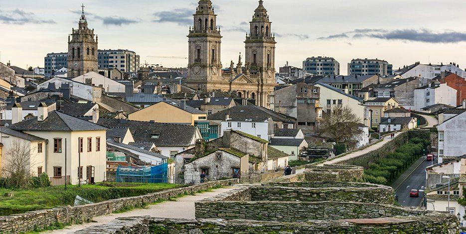 Ursprünglicher Weg ab Lugo