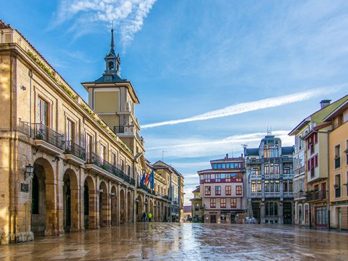 The camino de Santiago from Oviedo