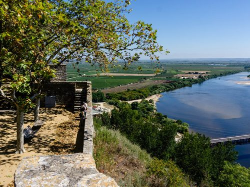 The Camino de Santiago from Santarem