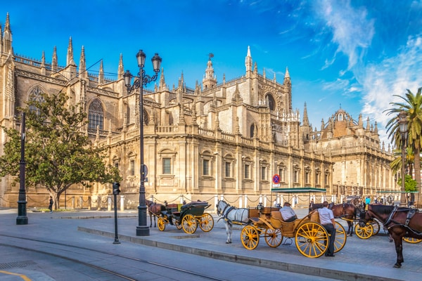 Hacer el Camino de Santiago desde Sevilla hasta la Catedral de Compostela significa hacer más de 950 kilómetros.