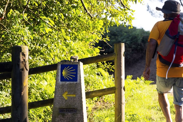 El Camino Inglés tiene la fama de ser el Camino de Santiago más corto.
