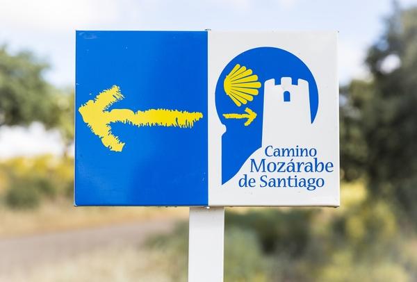 El Camino de Santiago más largo es la Vía de la Plata.