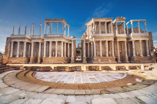 La ciudad romana de Mérida merece, como mínimo, toda una tarde de visita.