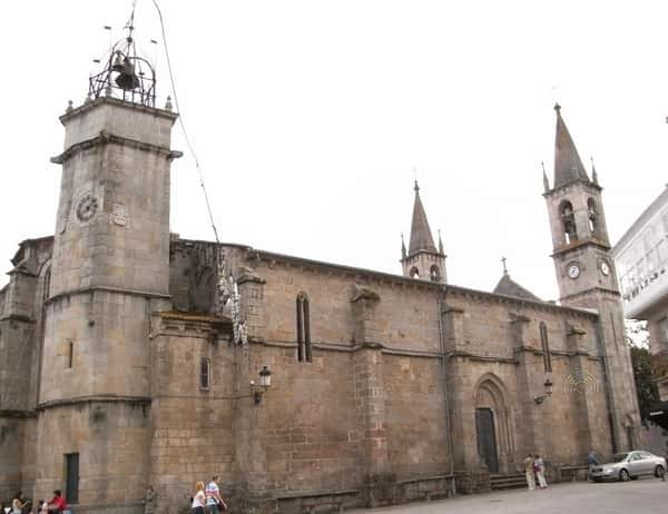 Iglesia de Santiago en Betanzos