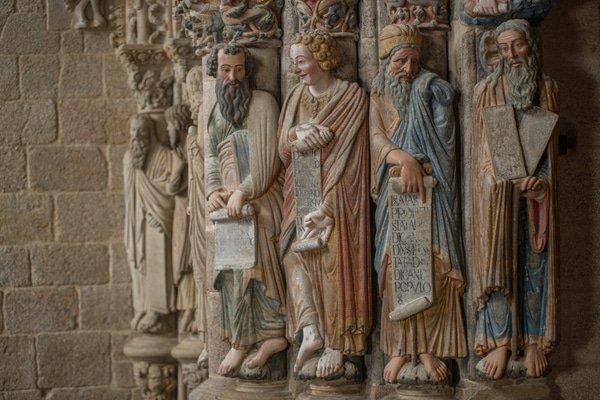 Sehenswürdigkeiten in der Kathedrale von Santiago de Compostela