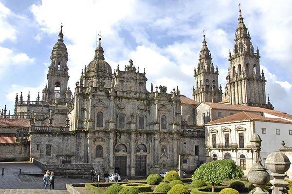 Sehenswurdigkeiten in der Kathedrale von Santiago