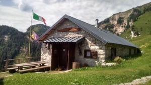 Unterkunft in Refugio Pian de Fontana