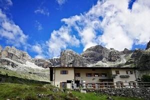 Alojamiento en Refugio Cacciatore