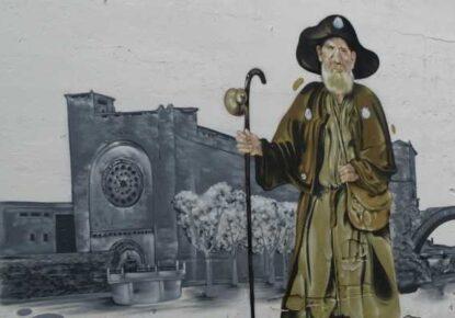 Graffiti en el Camino de Santiago fotografiado por Isidre