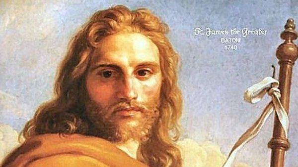 Apostels Jakobus dem Alteren