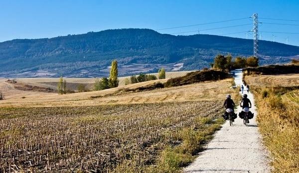 Preis, den Jakobsweg mit dem Fahrrad zu machen