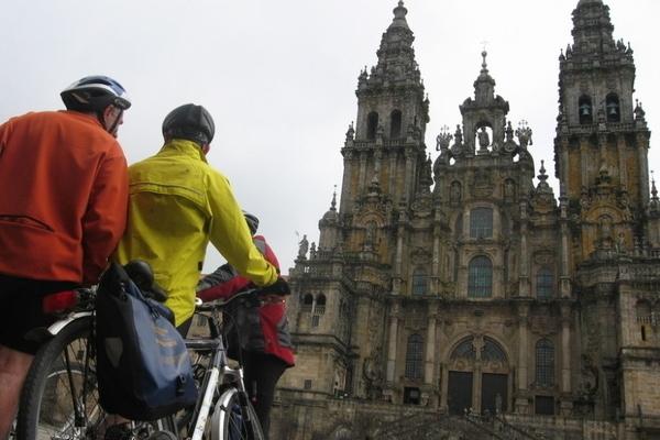 Camino de Santiago on bycicle