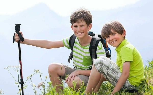 The Camino Frances is one of the most recommended routes to do with children.