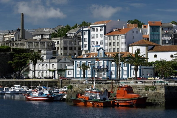 Ferrol auf dem englischen Jakobsweg