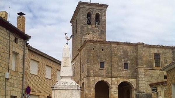 Hornillos del Camino: Der Weg ab Burgos.