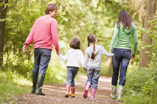Jakobsweg als Familie
