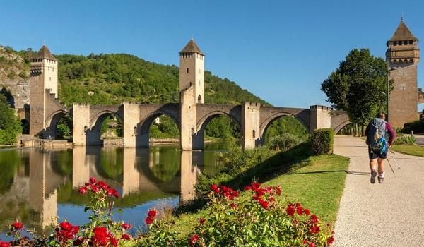 Photograph of a bridge on the Camino de Santiago