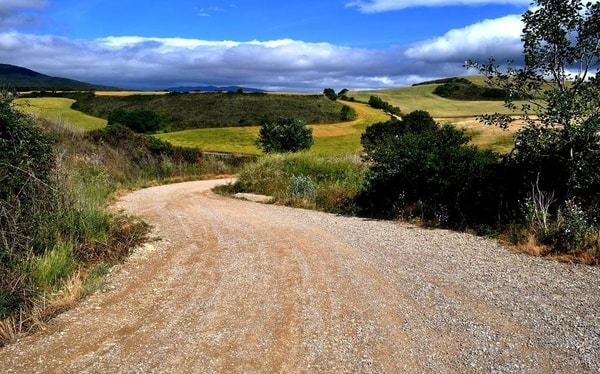 Routen des Jakobswegs: Wanderung nach Compostela