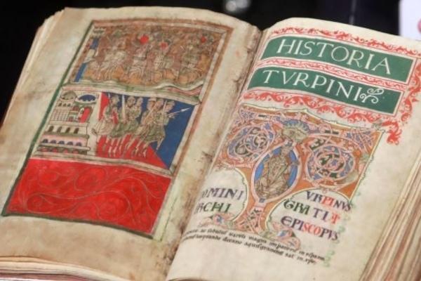 Codex Calixtinus book