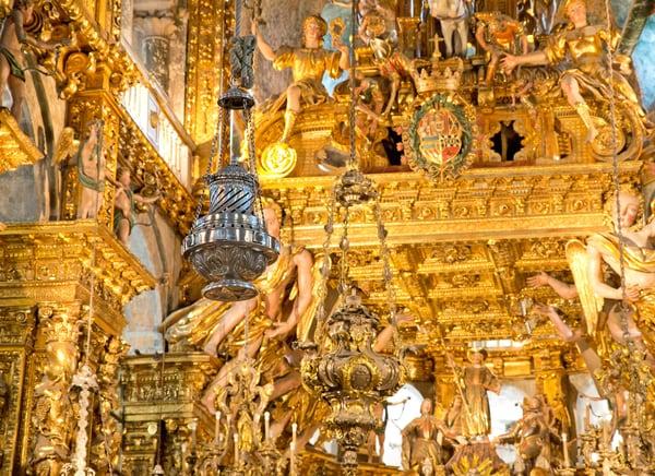 Botafumeiro in Santiago Cathedral