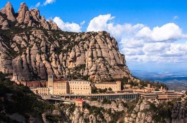Monastery of Montserrat in Barcelona