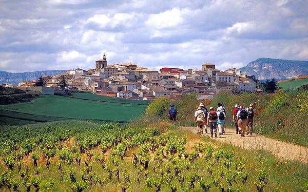Den Camino Inglés im August laufen