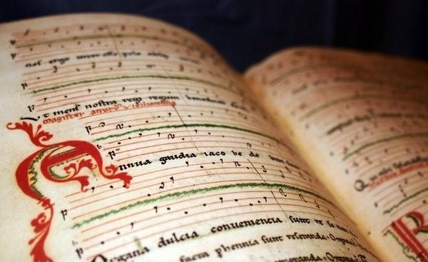 Die letzten Seiten des Buchs Codex Calixtinus