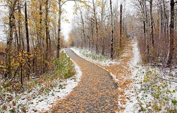 Den Jakobsweg im Dezember laufen