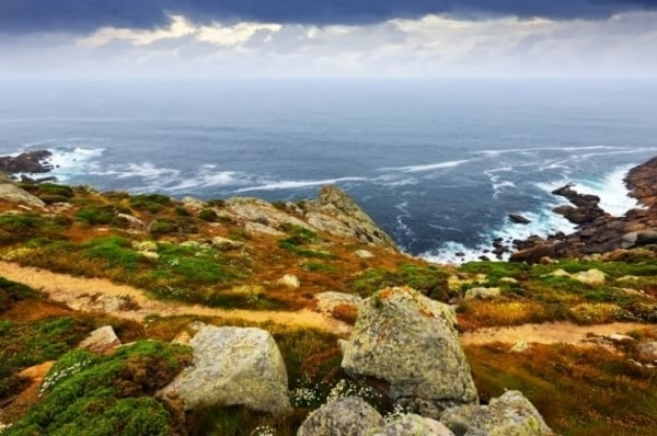 Den portugieischen Weg im Oktober laufen