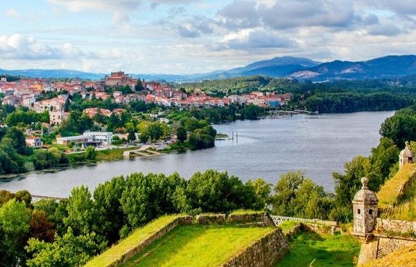 Die letzten 200 km des zentralen Camino Portugués