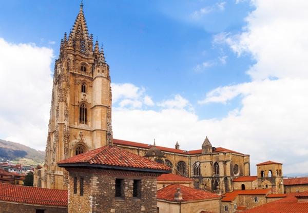 Die Kathedrale von Oviedo