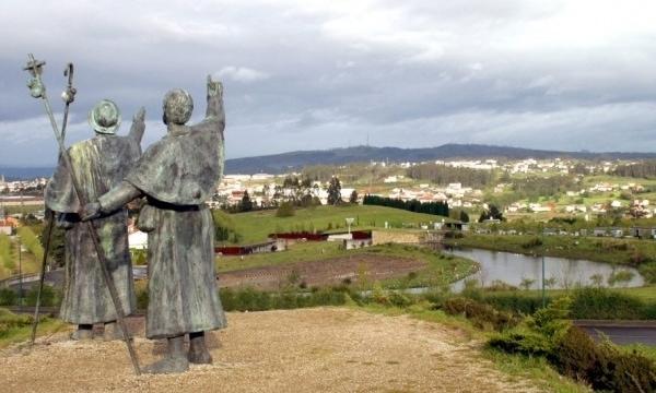 The last 120 kms of the Camino de Santiago routes